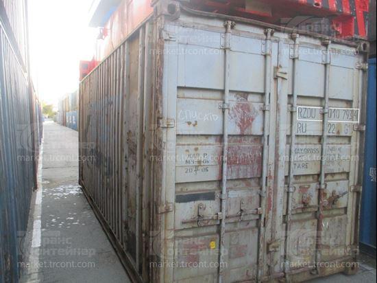Изображение 20-футовый б/у контейнер №0107934