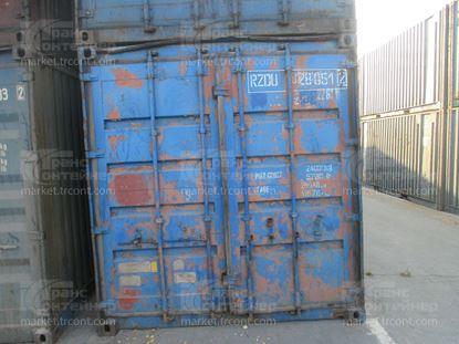 Изображение 20-футовый б/у контейнер №0280512