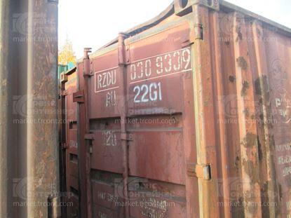 Изображение 20-футовый б/у контейнер №0309339