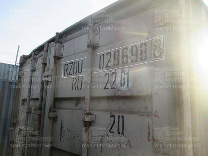 Изображение 20-футовый б/у контейнер №0296988