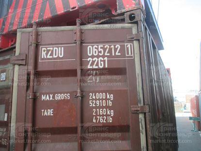 Изображение 20-футовый б/у контейнер №0652121