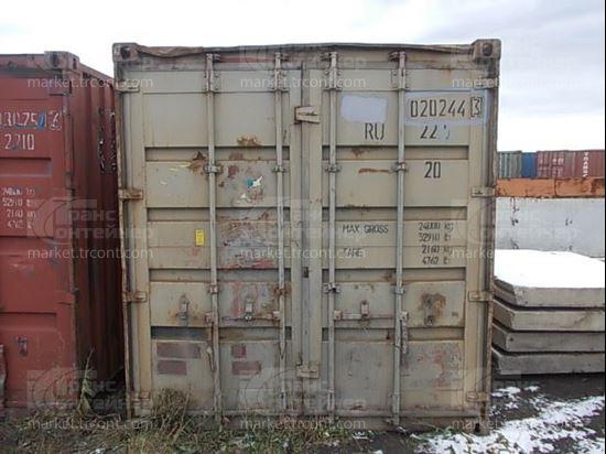Изображение 20-футовый б/у контейнер №0202443