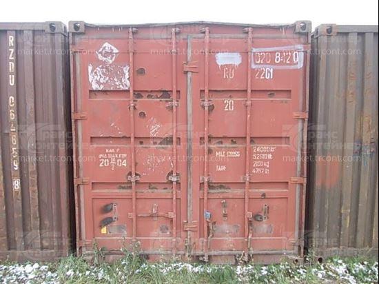 Изображение 20-футовый б/у контейнер №0208420