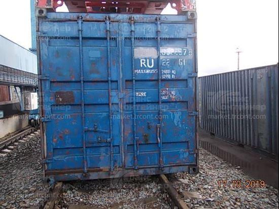 Изображение 20-футовый б/у контейнер №0322578