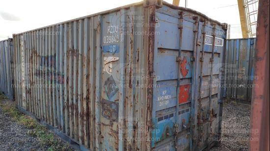 Изображение 20-футовый б/у контейнер №0398491