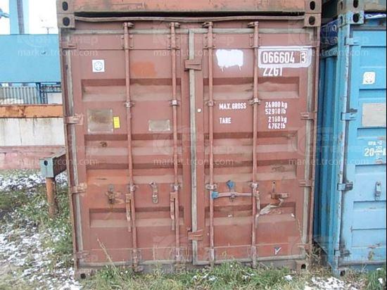 Изображение 20-футовый б/у контейнер №0666043