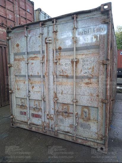 Изображение 20-футовый б/у контейнер №0261019
