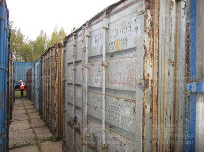 Изображение 20-футовый б/у контейнер №0214995