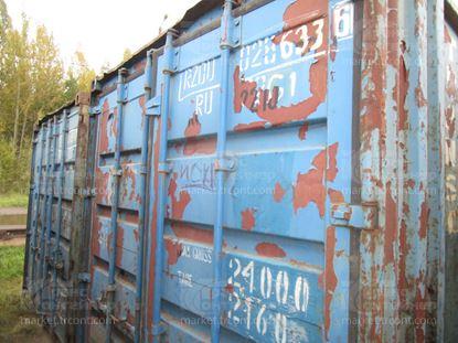Изображение 20-футовый б/у контейнер №0286336