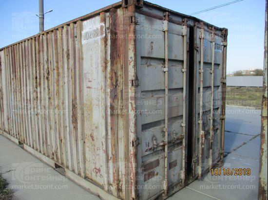 Изображение 20-футовый б/у контейнер №0026880