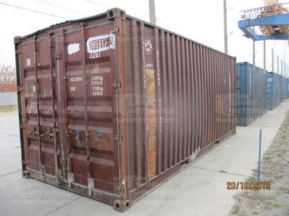 Изображение 20-футовый б/у контейнер №0659173