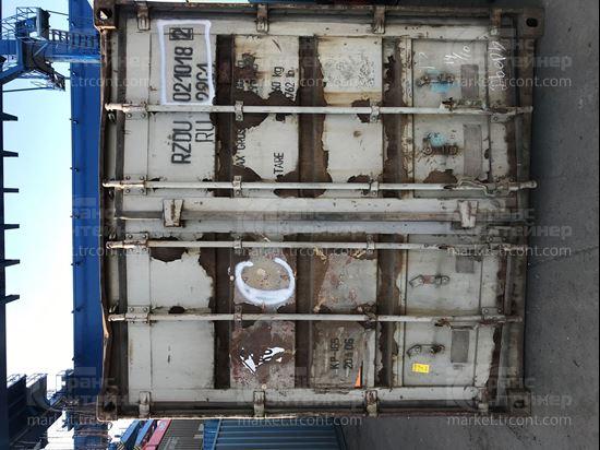 Изображение 20-футовый б/у контейнер №0210182