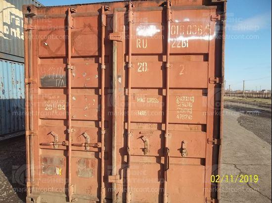 Изображение 20-футовый б/у контейнер №0180365
