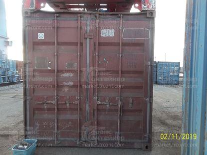 Изображение 20-футовый б/у контейнер №0631685