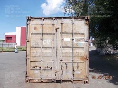 Изображение 20-футовый б/у контейнер №0463956