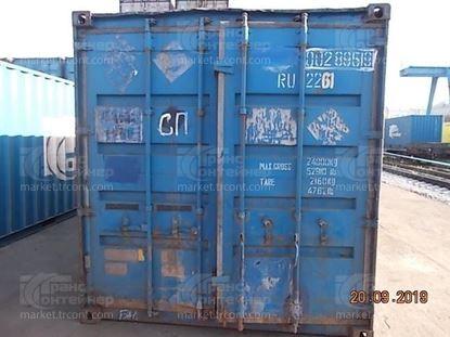 Изображение 20-футовый б/у контейнер №0028959