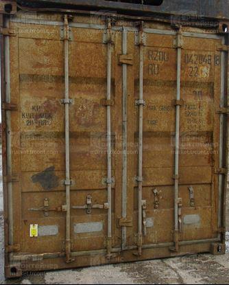 Изображение 20-футовый б/у контейнер №0428488