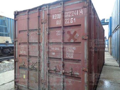 Изображение 20-футовый б/у контейнер №0122414