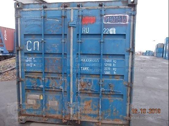Изображение 20-футовый б/у контейнер №0140146
