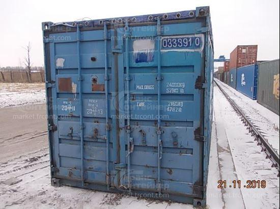 Изображение 20-футовый б/у контейнер №0333910