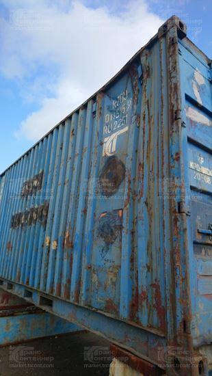 Изображение 20-футовый б/у контейнер №0115159