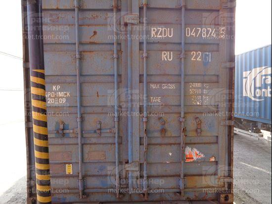 Изображение 20-футовый б/у контейнер №0478745