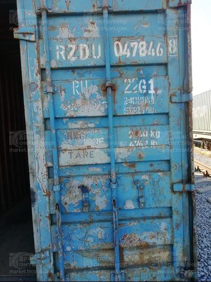 Изображение 20-футовый б/у контейнер №0478468