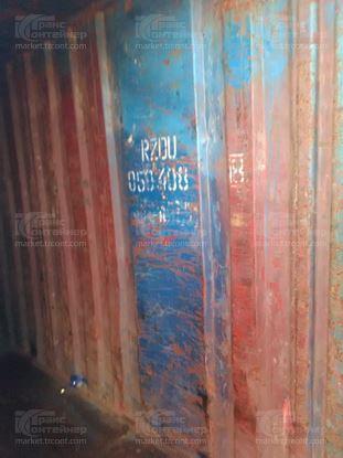 Изображение 20-футовый б/у контейнер №0594088