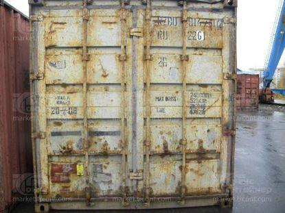 Изображение 20-футовый б/у контейнер №0147412
