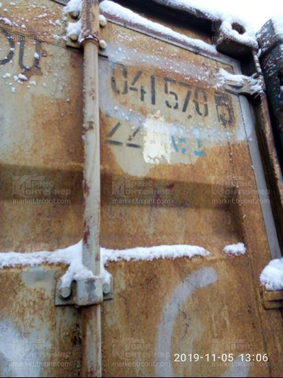 Изображение 20-футовый б/у контейнер №0415705