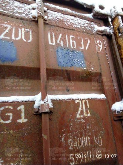 Изображение 20-футовый б/у контейнер №0416379