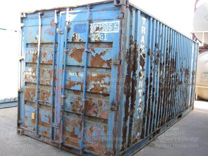Изображение 20-футовый б/у контейнер №0010055