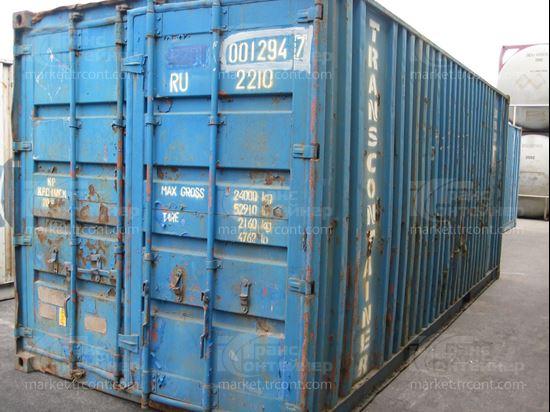Изображение 20-футовый б/у контейнер №0012947