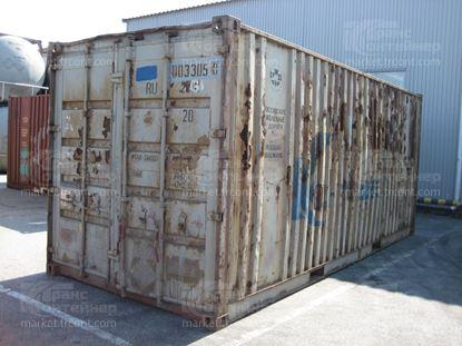 Изображение 20-футовый б/у контейнер №0033050