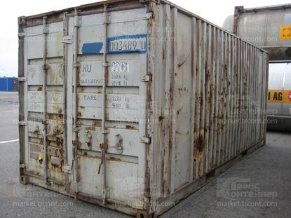 Изображение 20-футовый б/у контейнер №0034890