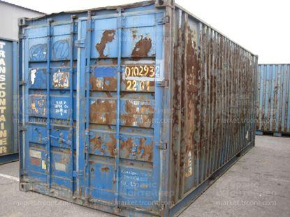 Изображение 20-футовый б/у контейнер №0102932