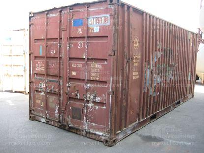 Изображение 20-футовый б/у контейнер №0112015