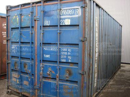 Изображение 20-футовый б/у контейнер №0160899