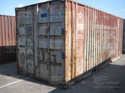 Изображение 20-футовый б/у контейнер №0183528