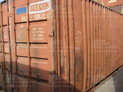 Изображение 20-футовый б/у контейнер №0188453