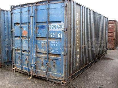 Изображение 20-футовый б/у контейнер №0194780