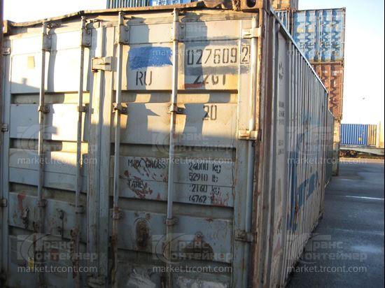 Изображение 20-футовый б/у контейнер №0276092