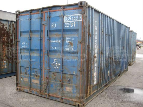 Изображение 20-футовый б/у контейнер №0393397