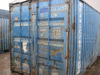 Изображение 20-футовый б/у контейнер №0417457