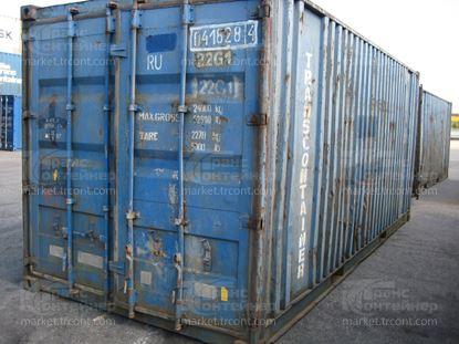 Изображение 20-футовый б/у контейнер №0418284