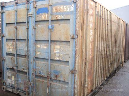 Изображение 20-футовый б/у контейнер №0499558