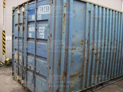 Изображение 20-футовый б/у контейнер №0653473