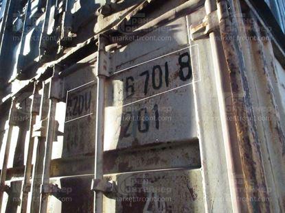 Изображение 20-футовый б/у контейнер №0167018