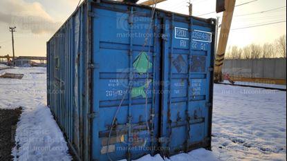 Изображение 20-футовый б/у контейнер №0356496