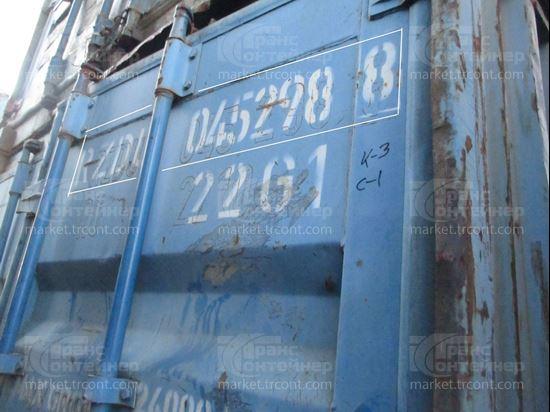 Изображение 20-футовый б/у контейнер №0452988